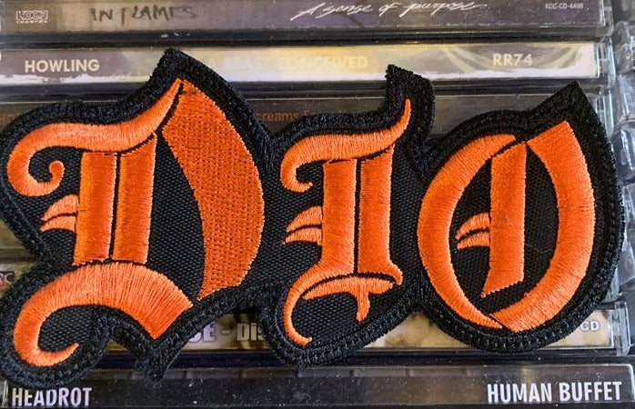 Dio Embroidered Patch