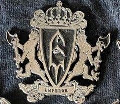 Emperor Metal Badge
