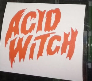 Acid Witch Decal