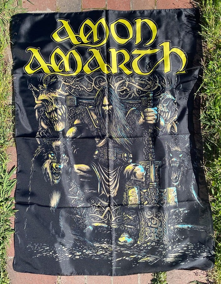 Amon Amarth Poster Flag