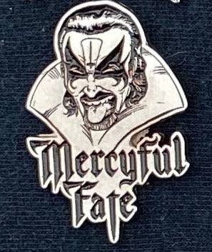 Mercyful Fate Metal Badge