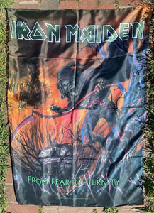 Iron Maiden From Fear to Eternity Poster Flag