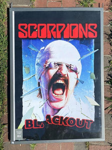 Scorpions Blackout Poster