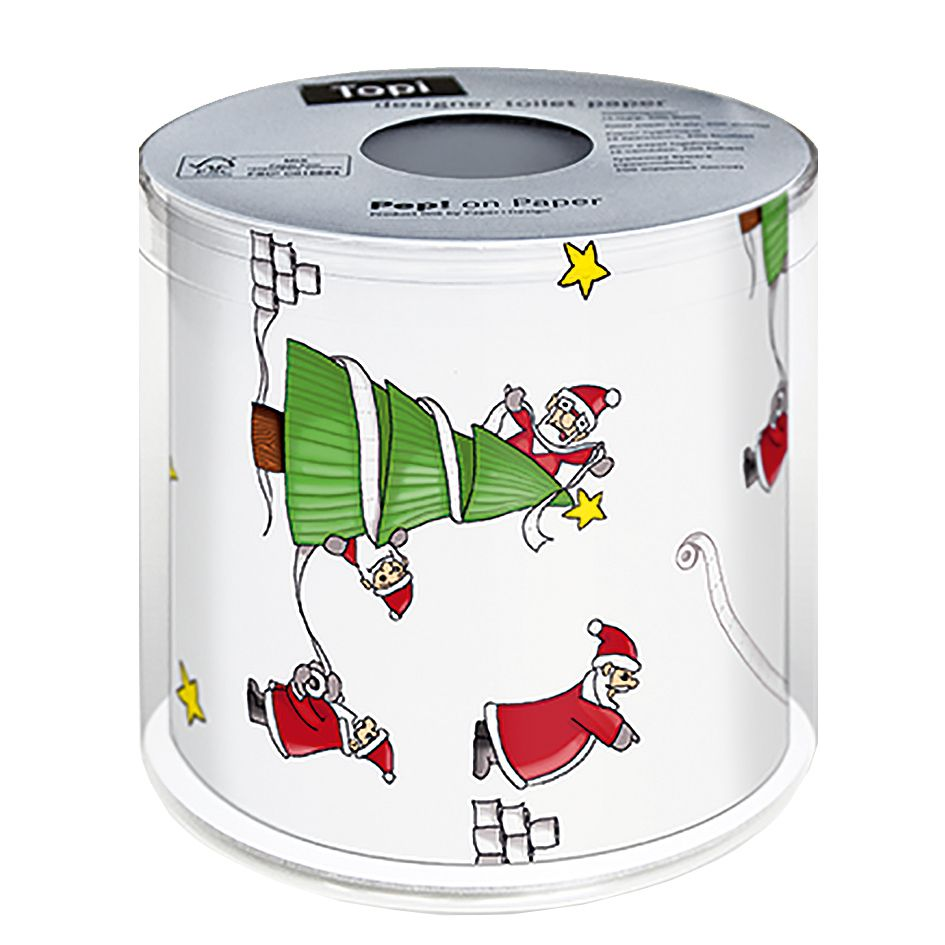 Christmas Toilet Paper - Santa's So Busy