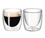 Caffe Twin Wall Glass s/2