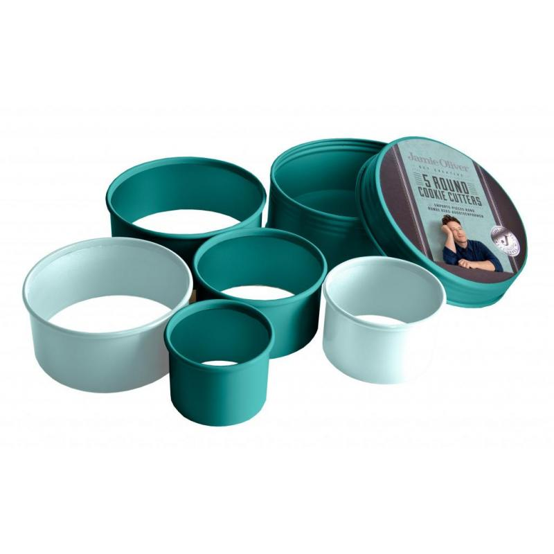 Jamie Oliver Cookie Cutters Plain  s/5