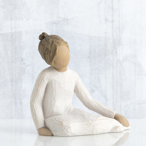 Thoughtful Child Figurine