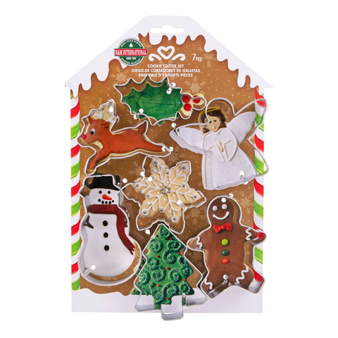 Christmas Cookie Cutter s/7