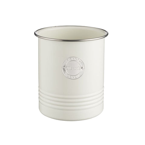 Utensil Holder Living - Cream