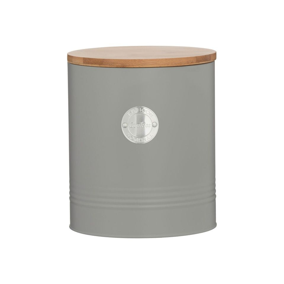 Cookie Canister Living - Grey