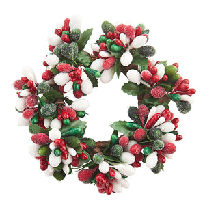 Berry Wreath/Candle Ring
