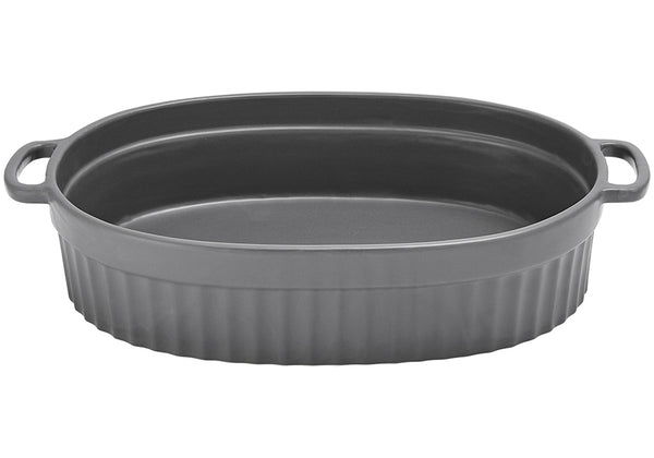 Oval Baking Dish Abode Asst Colours - 35.8x26.9x7.9cm