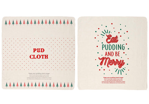 Cheer Pudding Cloth Asst