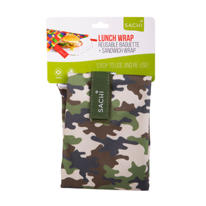 Lunch Wrap - Camo Green