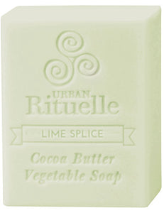 Organic Cocoa Butter Soap - Lime Splice