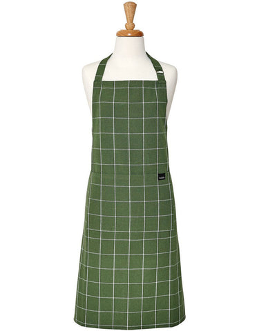 Eco Recycled Check Apron
