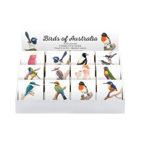 Thirstystone Coaster - Birds of Australia by Jeremy Boot