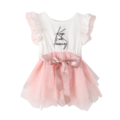 Keep On Dancing Tutu Dress - Cream