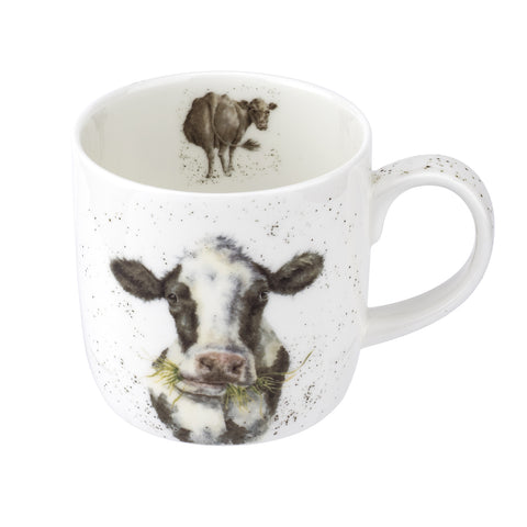 Royal Worcester Wrendale Mooo Mug