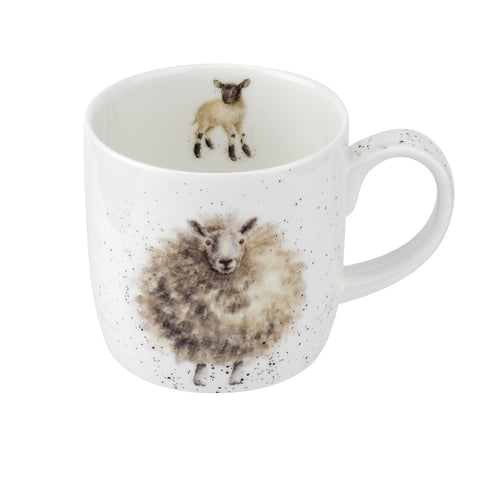Royal Worcester Wrendale Wooly Jumper Mug