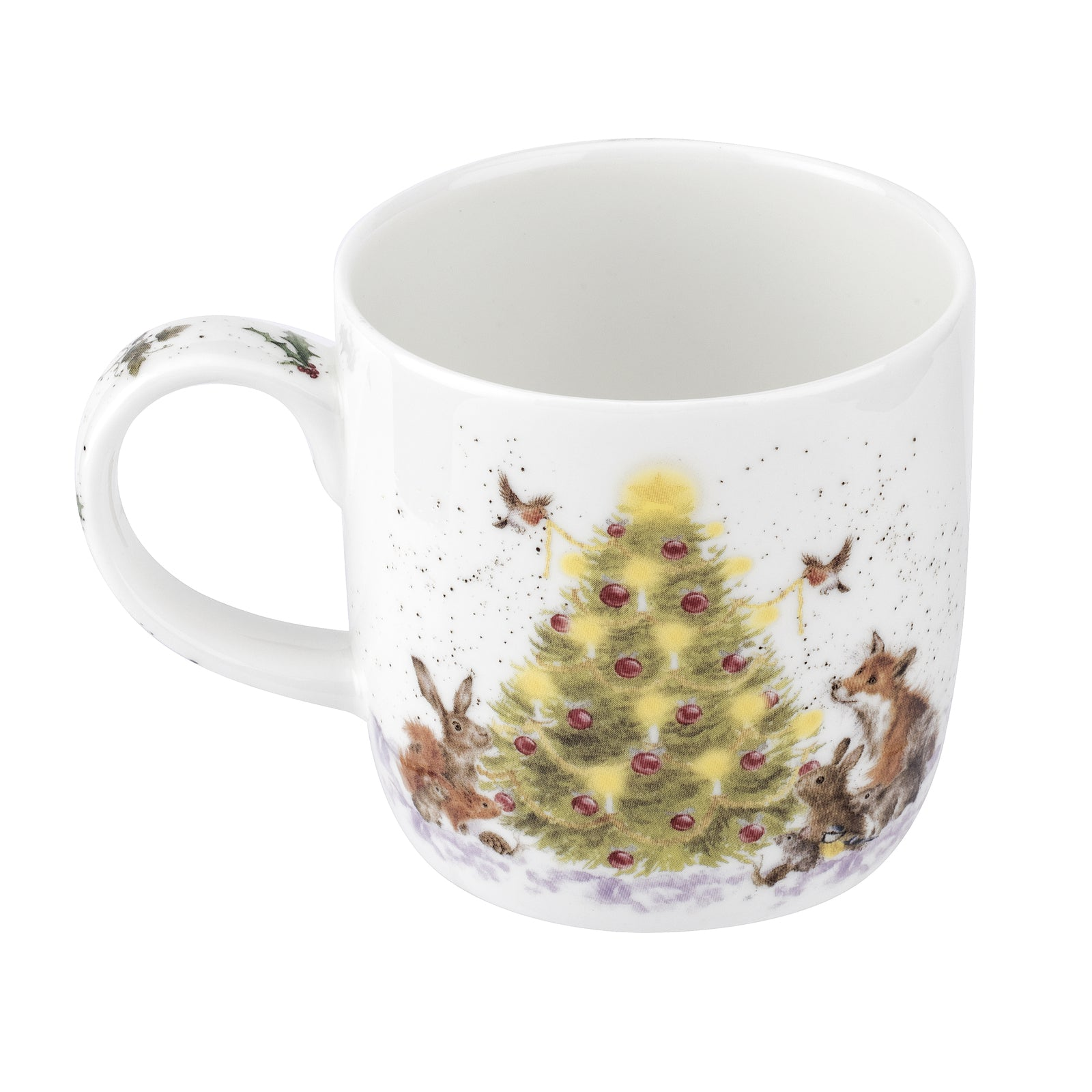 Royal Worcester Wrendale Christmas Tree Mug