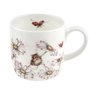 Royal Worcester Wrendale Oops A Daisy Mug