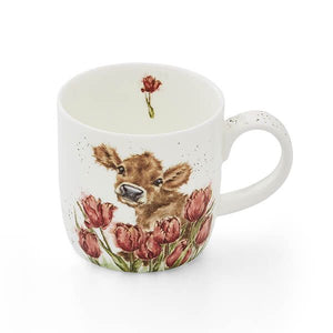 Royal Worcester Wrendale Bessie Calf Mug