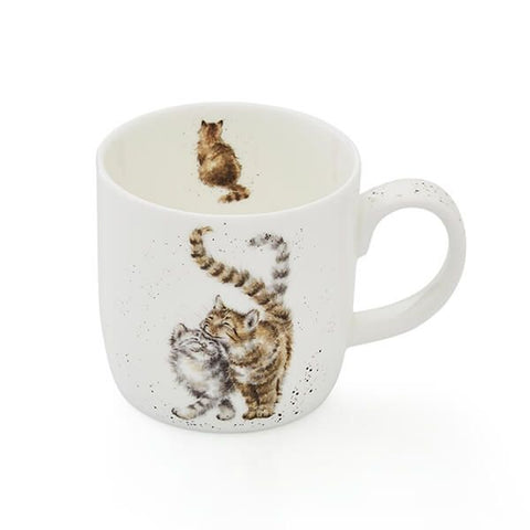 Royal Worcester Wrendale Feline Good Cat