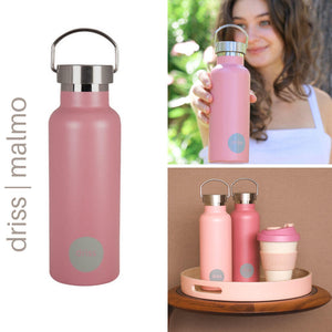 DRISS Drink Bottle Malmo Rose | Grey