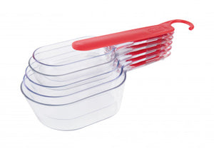 Measuring Cups Set/5 with Scraper