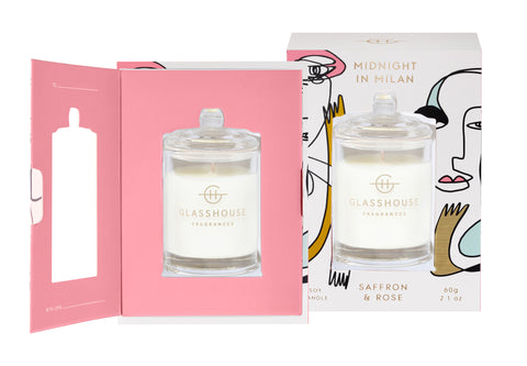 60g Candle Gift Card - Midnight In Milan