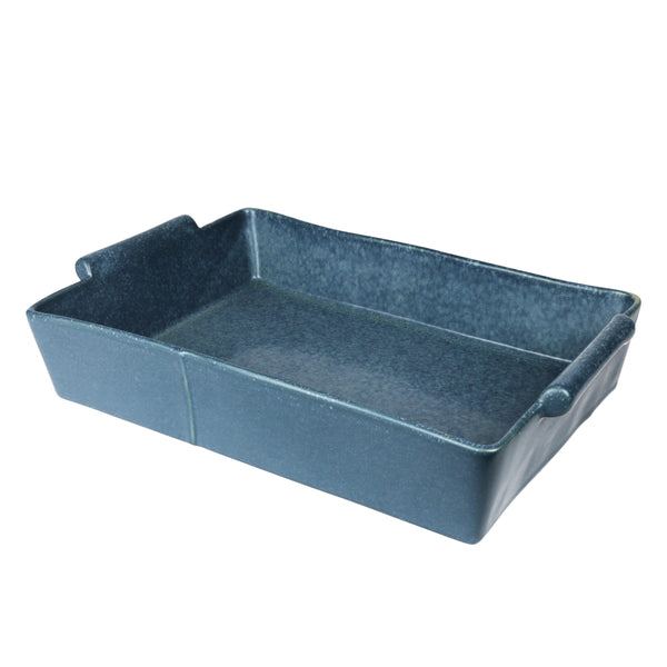 Rectangular Baking Dish Feast - Byron Blue