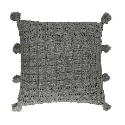 Alida Cushion Grey/Charcoal