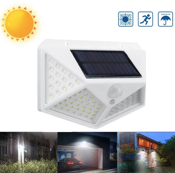 LUM-X™ 100 LED Solar Power Motion Sensor Light by Arilux