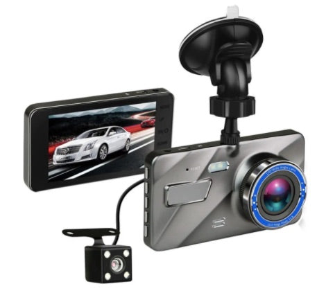 SHARP PIC™ 1080P Dual Lens Dash Cam with Parking Monitoring