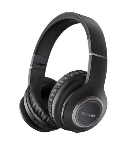 Jam Zone™ BW-HPO Wireless Bluetooth Noise Canceling Headphones with Mic by Blitzwolf®