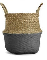 Tulum Small Foldable Rattan Straw Basket