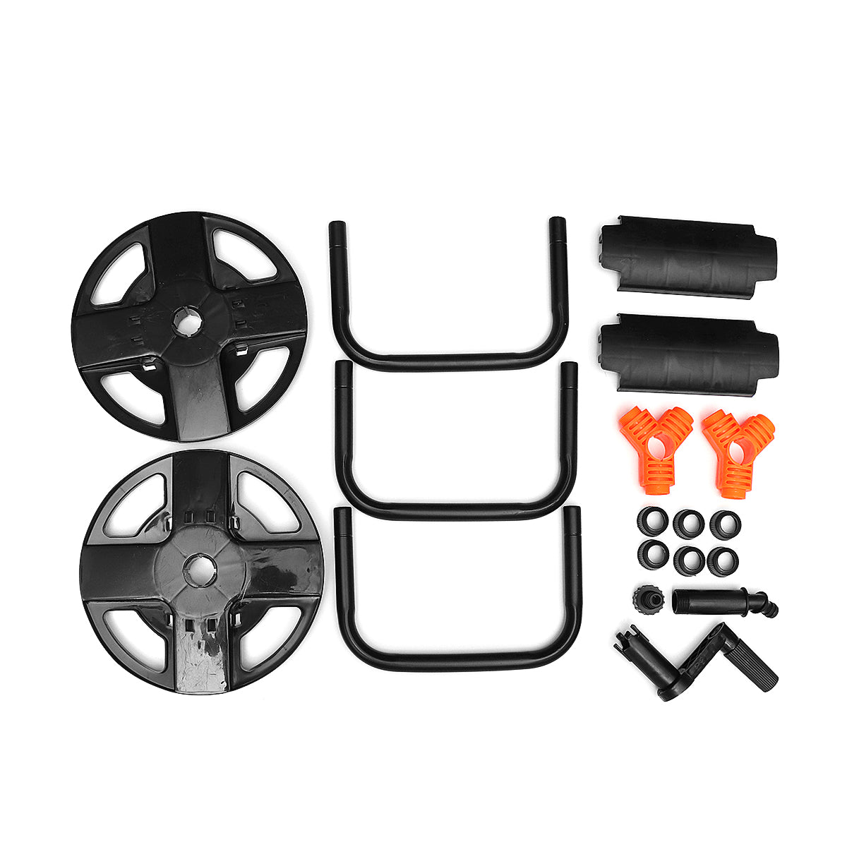 Portable Black Garden Hose Reel