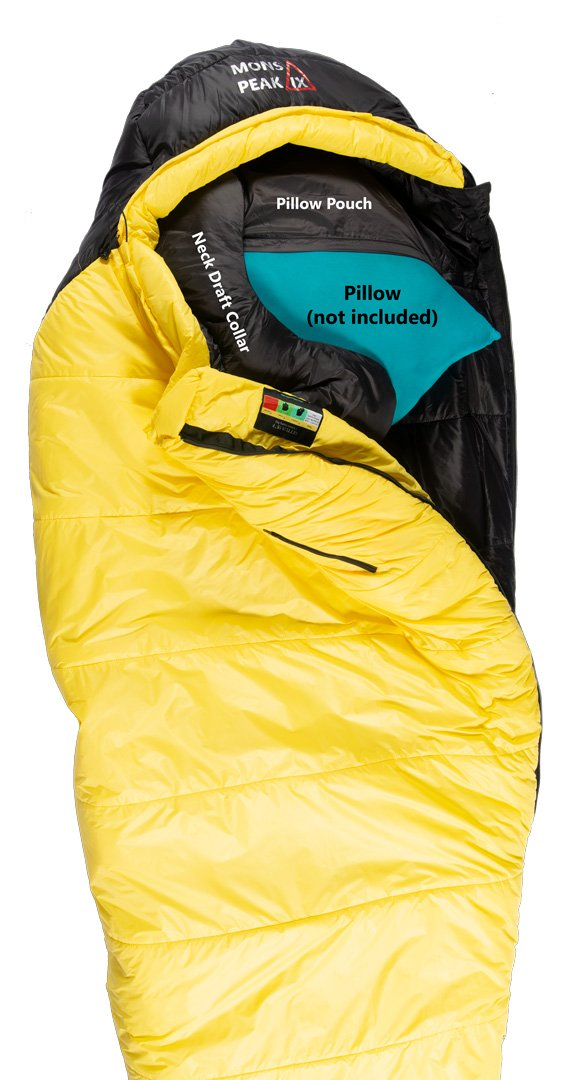CampPro™ SETTLER 15F Sleeping Bag by Mons Peak
