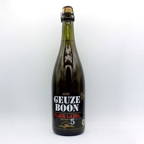 Boon Oude Geuze Boon Black Label Edition N°5