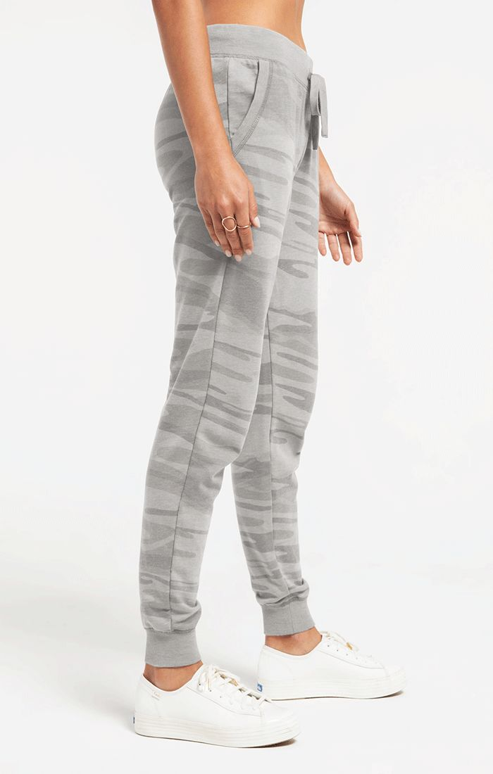 The Ultimate Camo Jogger Pant Heather Grey Z Supply