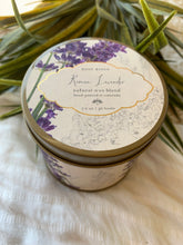 Load image into Gallery viewer, ROSY RINGS ROMAN LAVENDER SIGNATURE 7oz Tin