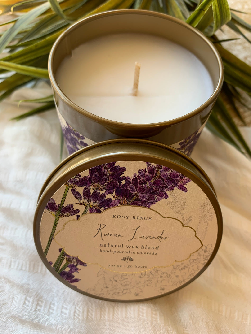 ROSY RINGS ROMAN LAVENDER SIGNATURE 7oz Tin