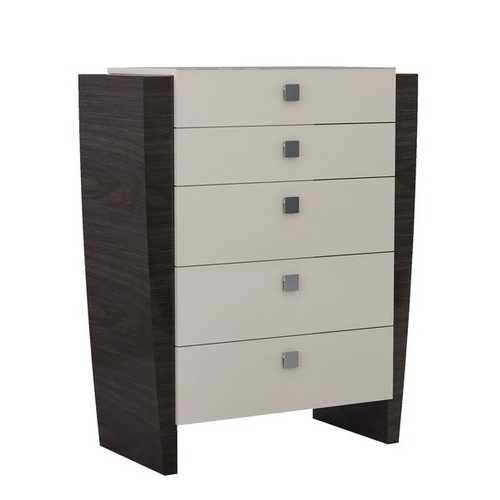 "48"" Refined Beige High Gloss Chest"