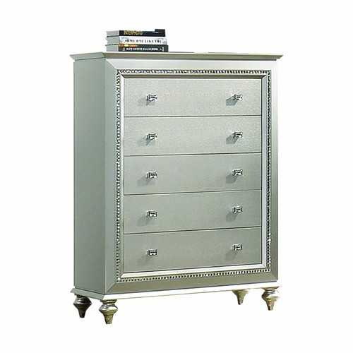 Champagne Wood Chest