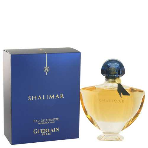 SHALIMAR by Guerlain Eau De Toilette Spray 3 oz (Women)