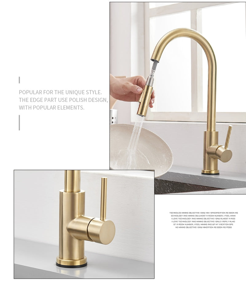 Smart Sensor Kitchen Faucet
