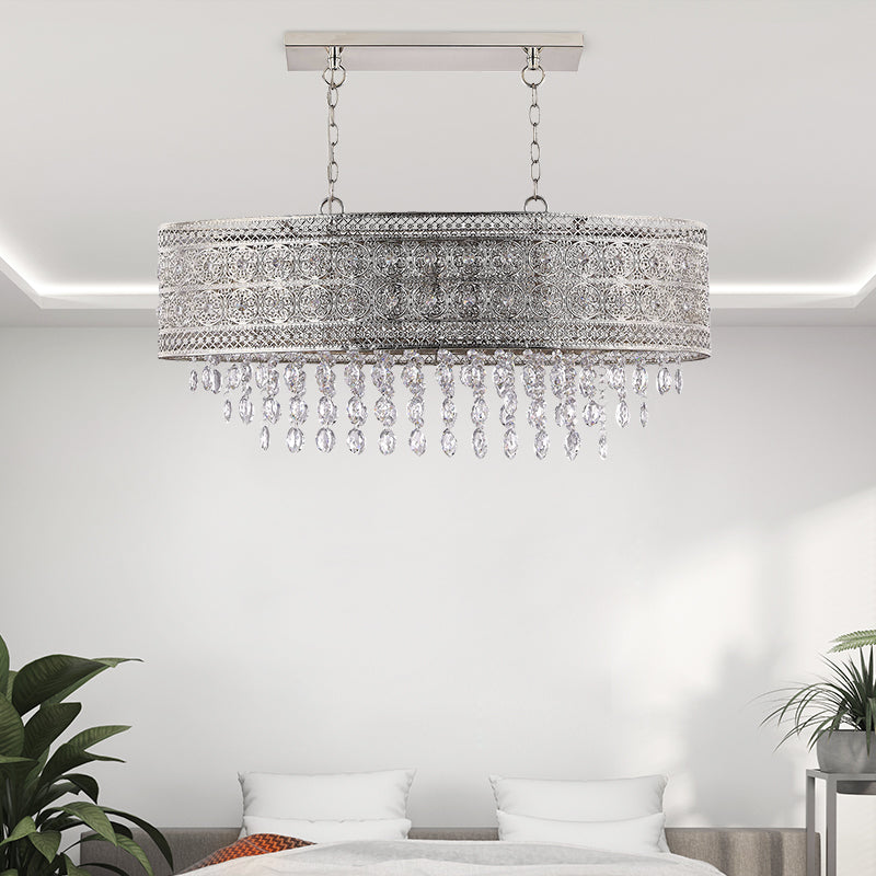 Pendant crystal  chandelier contemporary