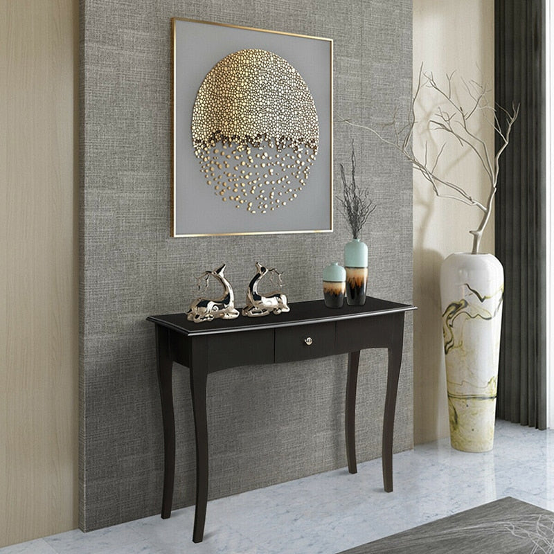 Acacia Wood Hallway Console Table