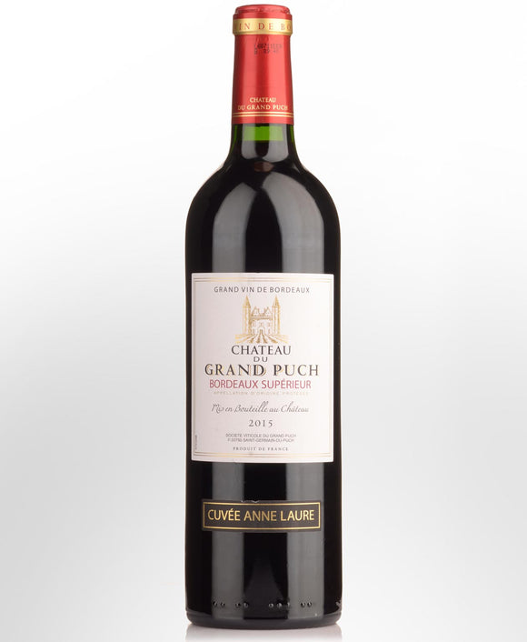2017 Chateau du Grand Puch 'Cuvee Anne Laurie' Bordeaux Superior Cabernet Blend